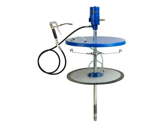 Солидолонагнетатель пневматический стационарный для раздачи смазки Pressol арт. 18785 056