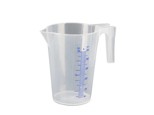 Мерная емкость-PP-0,5 л Прозрачная-шкала мл / % арт. 07061