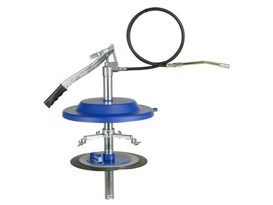Нагнетатель смазки высокого давления ручной Pressol для емкостей 18 кг, Ø 266 mm - 291 мм арт. 17694 950