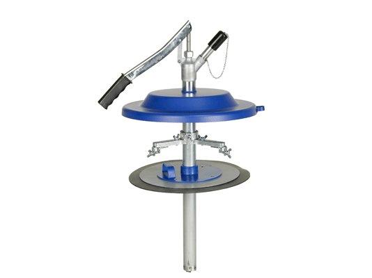 Насос для заполнения смазкой шприцев Pressol для 20 кг емкостей, Ø 270-310 мм арт. 17820