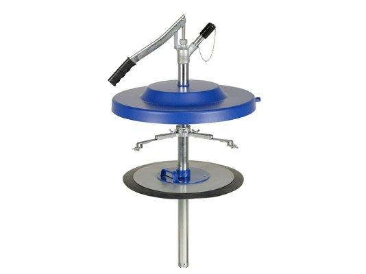 Насос для заполнения смазкой шприцев Pressol для 50 кг емкостей, Ø 335 - 385 мм арт. 17850