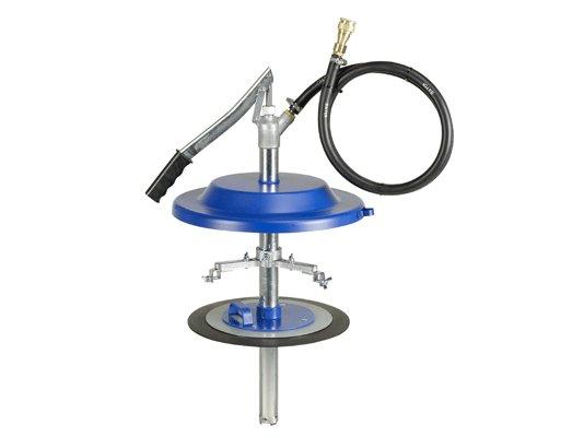 Насос для заполнения систем централизованной смазки, с адаптером Pressol 18 кг, Ø 240-290 мм арт. 17012 950
