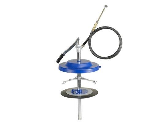 Насос для заполнения систем централизованной смазки, с адаптером Pressol 25 кг, Ø 300 - 350 мм, с принадлежностями арт. 17014 954