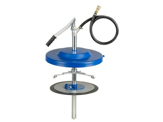 Насос для заполнения систем централизованной смазки, с адаптером Pressol 50 кг, Ø 335 - 385 мм арт. 17038