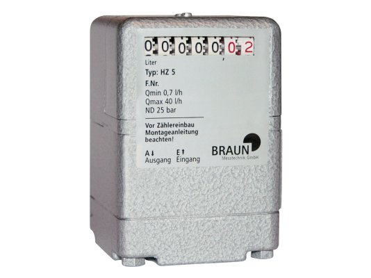 Расходомер малого расхода HZ 5 Braun арт. 89315 010