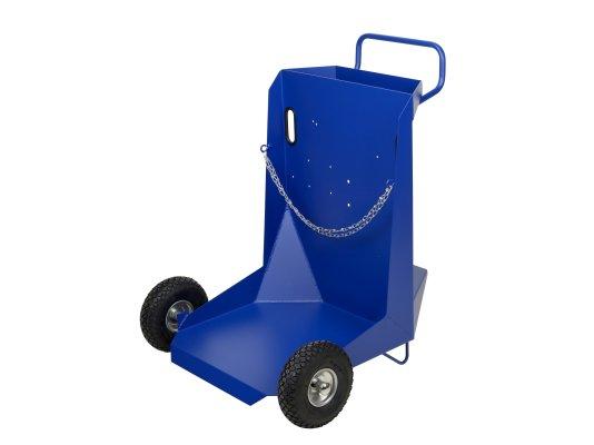 Тележка для бочек 200 л на пневматических колесах
