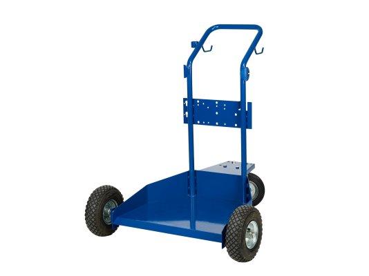 Тележка для емкостей 200 кг разборная-на пневматических колесах
