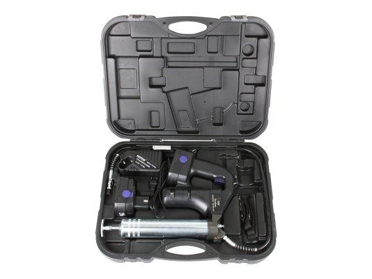 Аккумуляторный смазочный шприц 18 Вольт Pressol арт. 18040